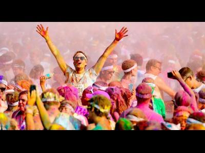 Une course haute en couleur!