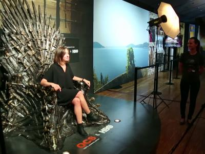 Game of Thrones, l'exposition, visite guidée