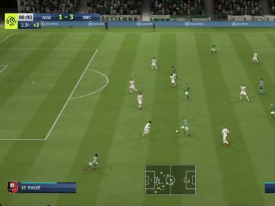 L1 - 5ème journée : notre simulation FIFA 20 de ASSE - Stade Rennais