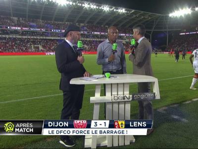 La réaction d'Antoine Kombouaré après le maintien de Dijon en Ligue 1