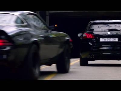 La Peugeot 308 GTi au cœur d'une poursuite endiablée