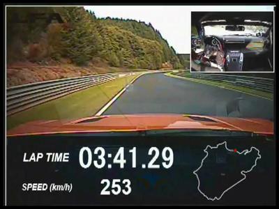 La Lexus LFA améliore ses chronos sur le Nordschleife
