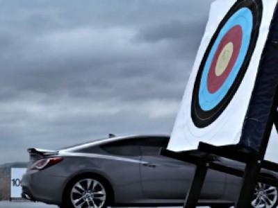 Hyundai Genesis Coupé plus rapide qu'une flèche