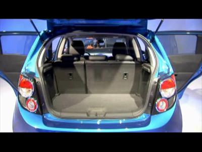 Détroit 2011 : Chevrolet Sonic LTZ