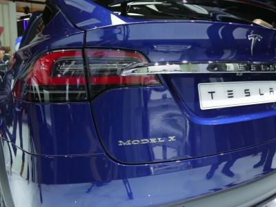 Mondial 2016 : Tesla Model X P100D