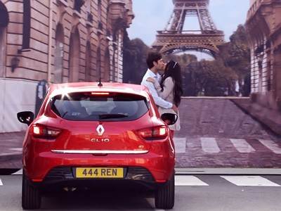 La France clichée fait vendre des Clio IV outre-Manche
