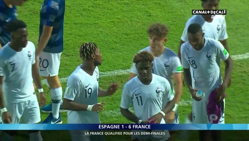 Coupe du Monde FIFA U-17 : Le résumé d'Espagne - France