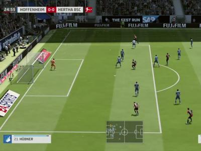 Hoffenheim - Hertha Berlin sur FIFA 20 : résumé et buts (Bundesliga - 26e journée)