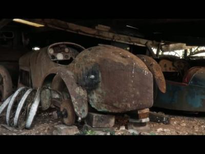 Artcurial met à jour une collection d'anciennes automobiles hors du commun