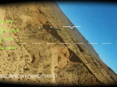 Parrot Disco : vidéo officielle de présentation du drone