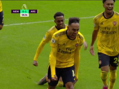 Newcastle - Arsenal : Aubameyang lance sa saison face à Newcastle !