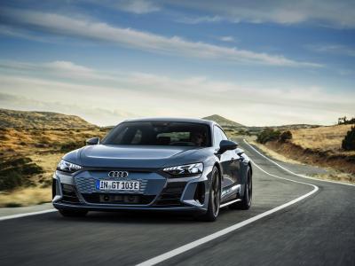 Nouvelle Audi e-tron GT (2021) : le coupé 4 portes en vidéo