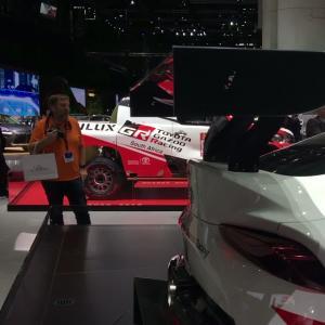 Le concept Toyota GR Supra Racing en vidéo depuis le salon de Genève 2018