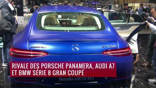 La Mercedes-AMG GT Coupé 4 portes en vidéo depuis le salon de Genève 2018