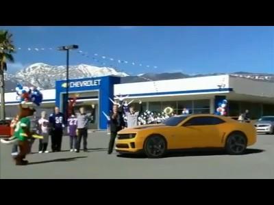 Superbowl 2011 : Chevrolet Transformers