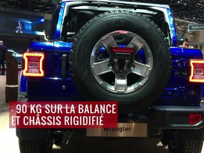 La Jeep Wrangler en vidéo depuis le salon de Genève 2018