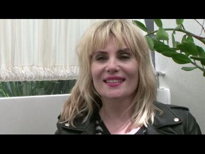 Emmanuelle Seigner, interview