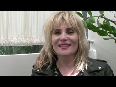 Emmanuelle Seigner, interview