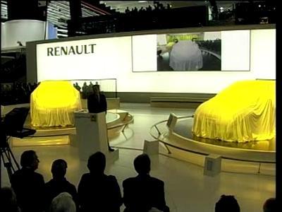 Renault - conférence presse Genève 2009