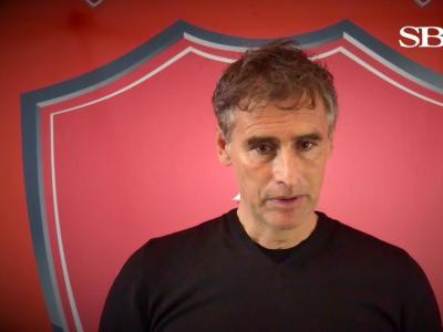 La première interview d'Olivier Dall'Oglio en tant qu'entraîneur du Stade Brestois