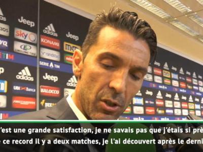 Juventus - SPAL : Buffon réagit à son record !