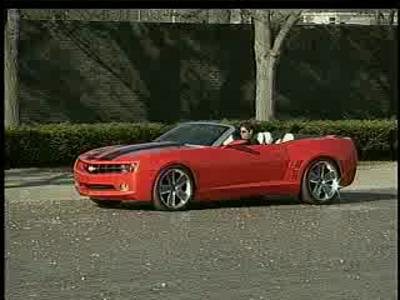 Chevy Convertibe Camaro Concept