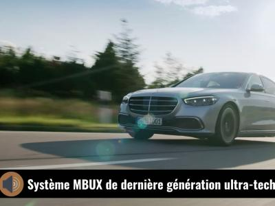 Mercedes Classe S (2021) : la berline de luxe en vidéo