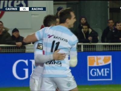 Castres Olympique-Racing 92 : résumé et essais du match en vidéo