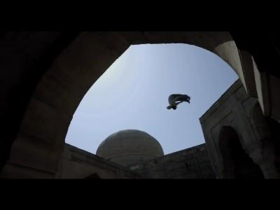 Ryan Doyle : Parkour à Bakou