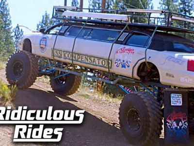 La limousine tout-terrain de Barcroft Cars en vidéo