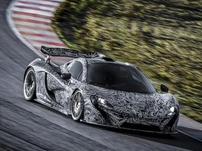 McLaren P1 : ses essais intensifs en vidéo