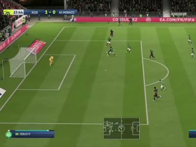 Saint-Etienne - Monaco : notre simulation sur FIFA 20