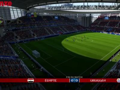 On a simulé Égypte - Uruguay sur FIFA 18