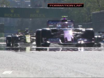 Formule 1 : le départ du Grand Prix d'Azerbaïdjan en vidéo