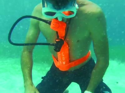 Seagow, entre le snorkelinge et la plongée sous-marine