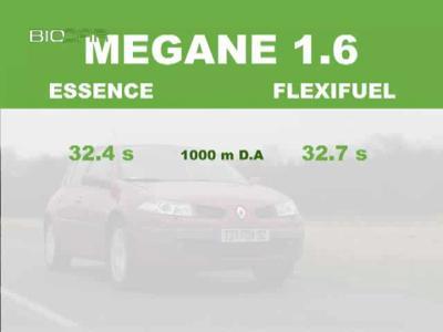 Match Renault Mégane E85 / Renault Mégane essence