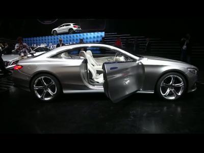 Francfort 2013 - Mercedes Classe S Coupé Concept