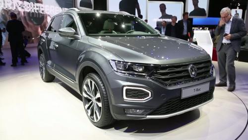 Francfort 2017 : Volkswagen T-Roc