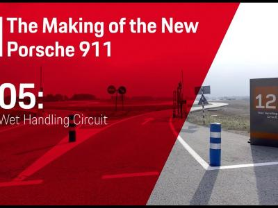 Nouvelle Porsche 911 : le making off (VO)