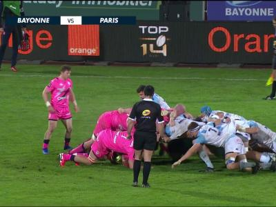 Aviron Bayonnais - Stade Français : résumé et essais du match en vidéo