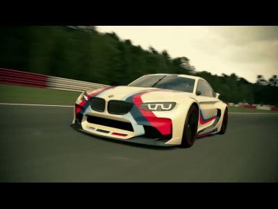BMW dévoile un concept sportif dans GranTurismo 6