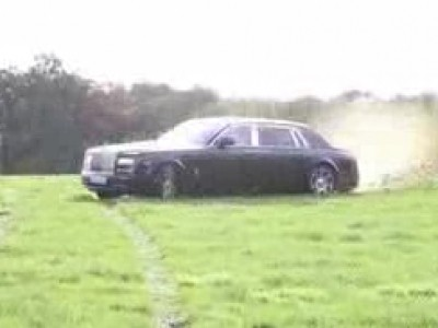 Rallye au volant d'une Rolls Royce Phantom