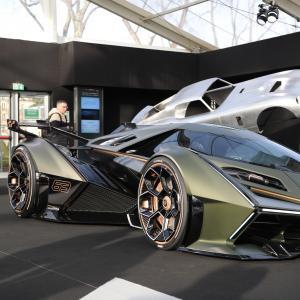 Lamborghini Lambo V12 Vision Gran Turismo : le concept du jeu PS4 en vidéo