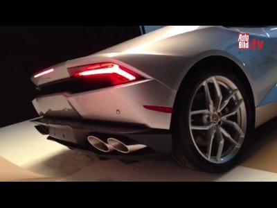 Toute première vidéo de la Lamborghini Huracan