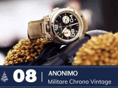 #8 Anonimo militare Chrono Vintage