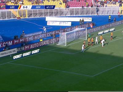 Serie A : La Juventus stoppée par Lecce