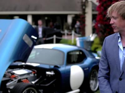 La Shelby Daytona Coupé en version électrique