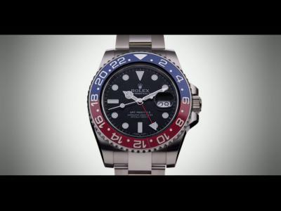 GMT-MASTER II Bicolore rouge et bleu