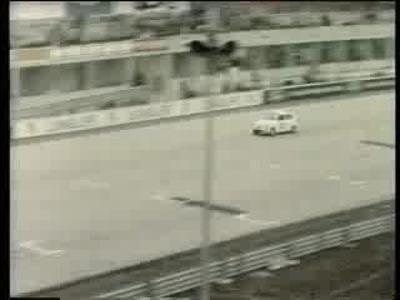 Course sur Circuit Fiat 500 en 1960