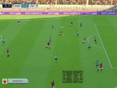 AS Roma - Inter Milan sur FIFA 20 : résumé et buts (Serie A - 34e journée)